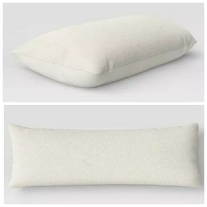 Room Essentials Soft Faux Fur Body Pillow cover